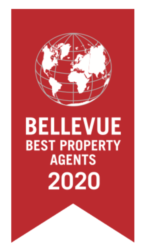 Award Bellevue Best Property Agent 2020