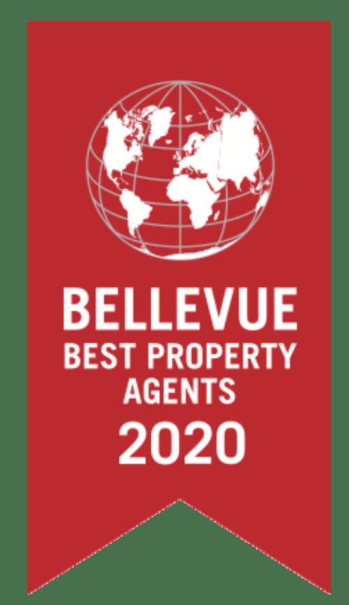 Award Bellevue Best Property Agent 2020