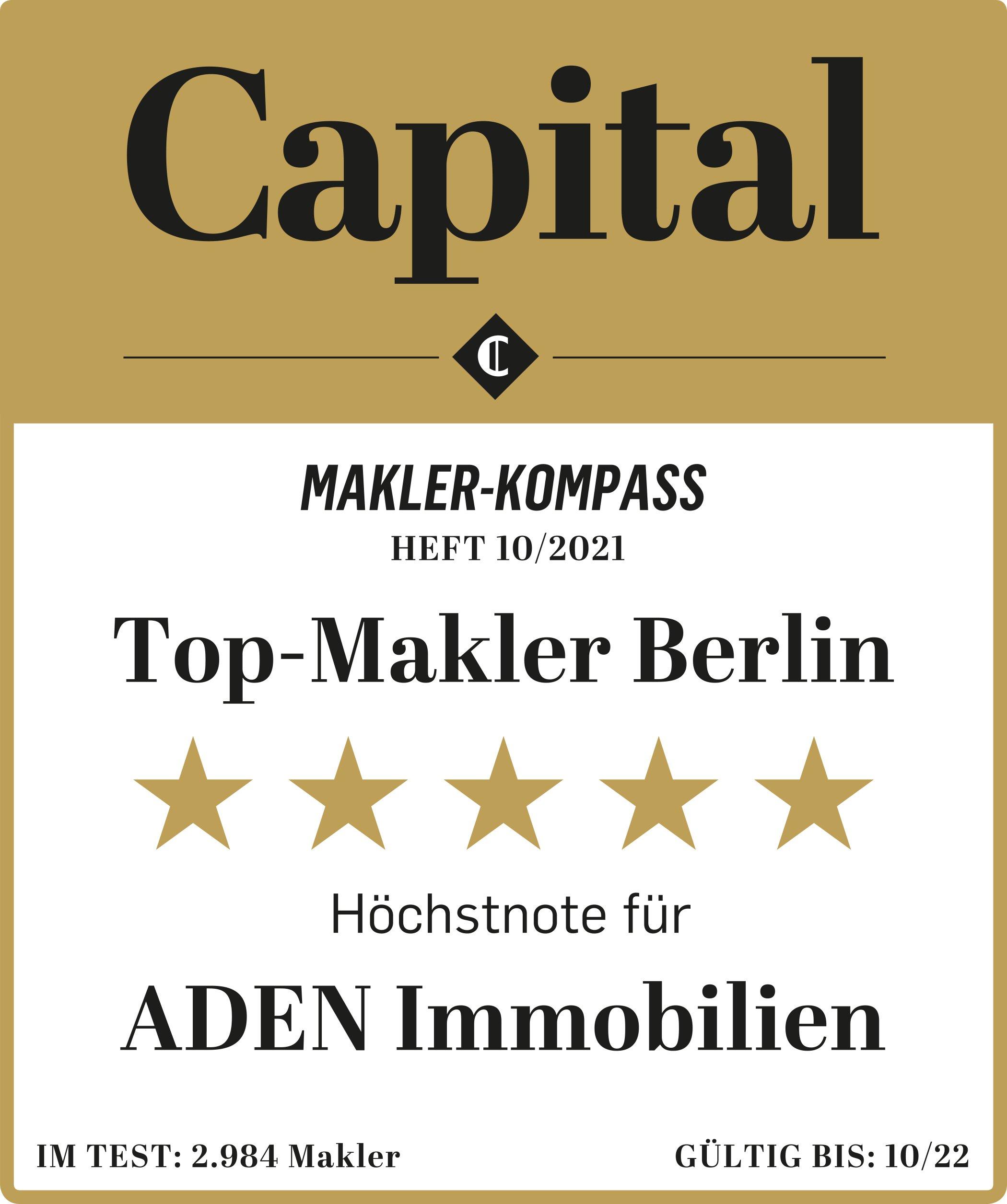 CAPITAL Top-Makler Berlin 2021